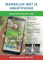 Meer dan 1000 wandelingen op je smartphone