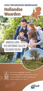 Topografische wandelkaart Hollandse Waarden