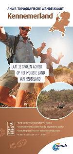 Topografische wandelkaart Kennemerland