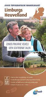 Topografische wandelkaart Limburgs Heuvelland