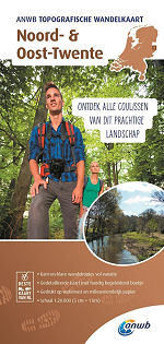 Topografische wandelkaart Noord- en Oost Twente