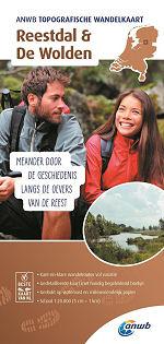 Topografische wandelkaart Reestdal en de Wolden