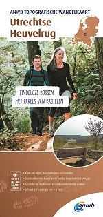 Topografische wandelkaart Utrechtse Heuvelrug