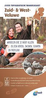 Topografische wandelkaart Zuid- en West Veluwe