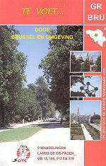 Te voet ...door Brussel en Omgeving