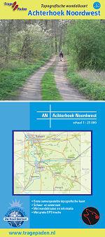 Topografische Wandelkaart Achterhoek Noordwest