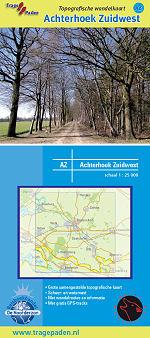 Topografische Wandelkaart Achterhoek Zuidwest
