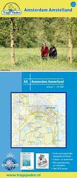 Wandelkaart Amsterdam Amstelland