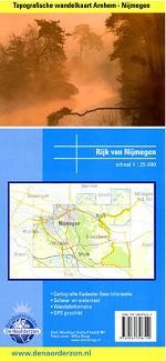 Topografische Wandelkaart Arnhem Nijmegen