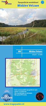 Topografische Wandelkaart Midden Veluwe