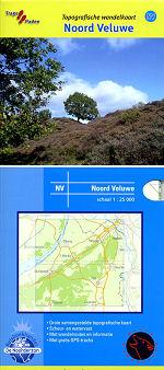 Topografische Wandelkaart Noord Veluwe
