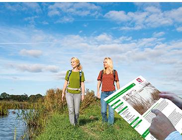 Ontdek Nederland met meer dan 1500 wandelkaarten