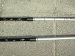 Vaste of verstelbare poles
