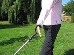 Door verkeerde lus valt de pole tijdens de achterzwaai uit de hand