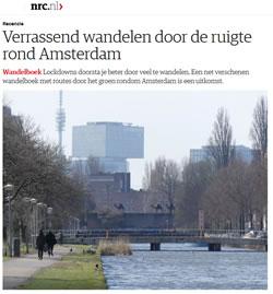 Verrassend wandelen door de ruigte rond Amsterdam