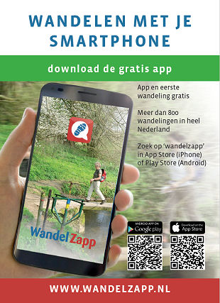 Wandelen met je smartphone