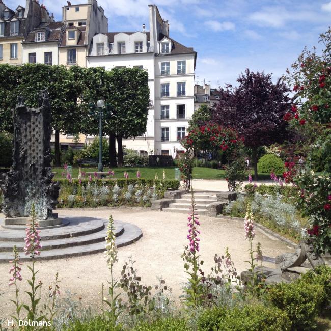 Wandelroute Parijs