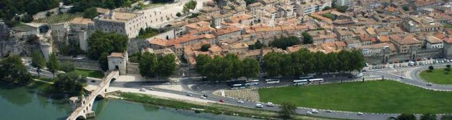 Wandelroute Avignon
