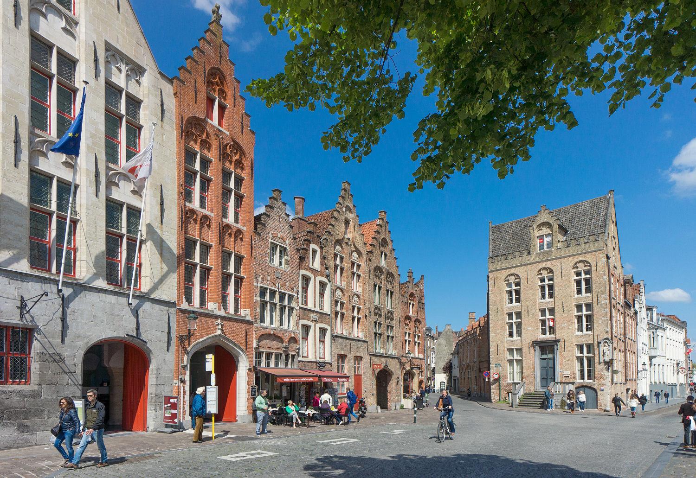 Brugge: middeleeuwse stad