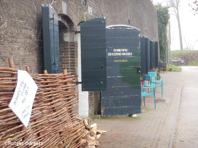 Schalkwijk - Lopen langs linies