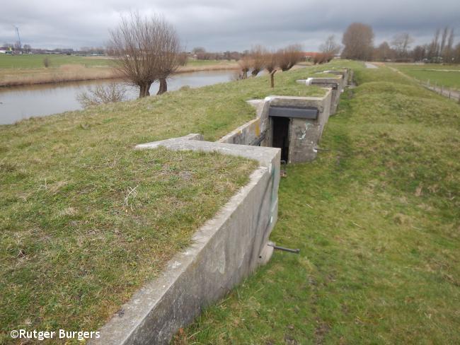 Heemskerk - Lopen langs linies