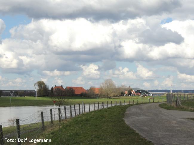 IJsselpad traject 1 Westervoort - Giesbeek (zomervariant)