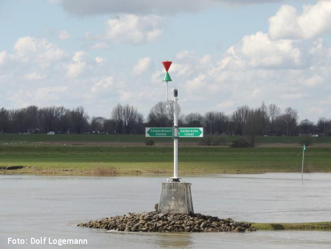 IJsselpad traject 1 Westervoort - Giesbeek (wintervariant)