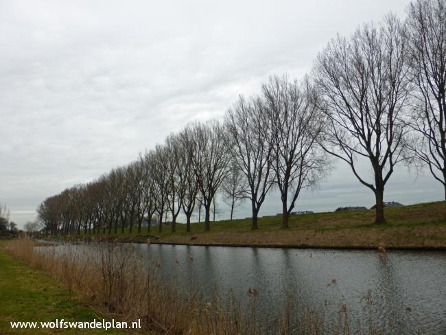 Hoofddorp-Vijfhuizen - Lopen langs linies