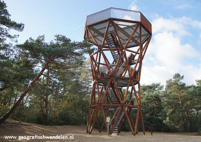 Rondje uitkijktoren Kootwijkerzand