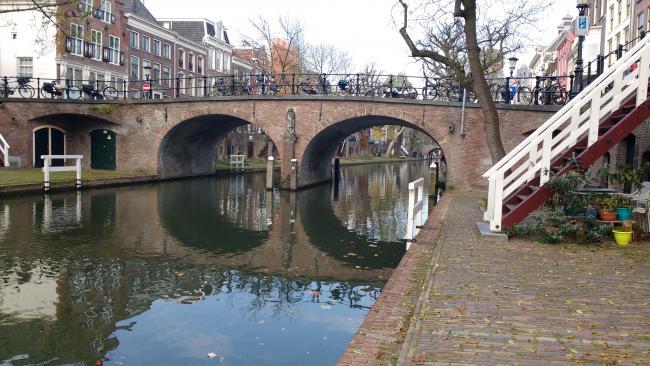 Bijzondere bergwandeling Utrecht - Griftpark