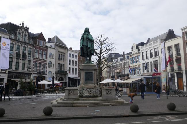 Wandelend rondom het Centrum van Den Haag