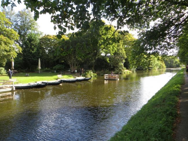 Het kanaal naar Scheveningen