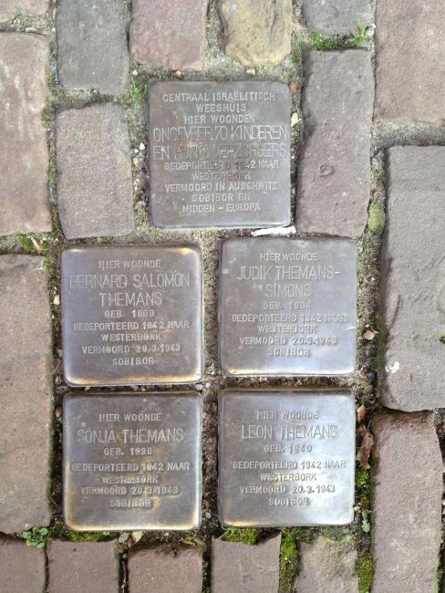 Herinneringen aan de oorlog in Utrecht