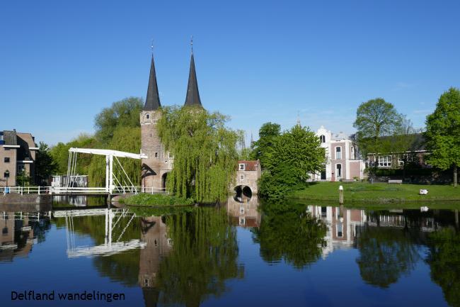 Gezicht op Delft: oud en nieuw