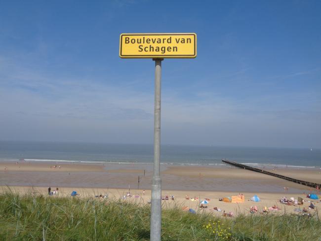 Domburg, strand en achterland
