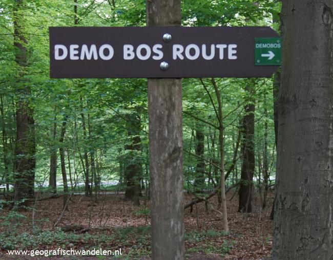 Demobos route