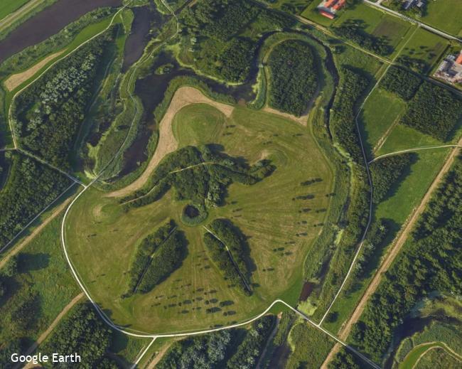 Delft: door de zuidelijke helft (A)