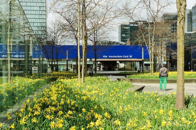 StationsOmmetje Amsterdam Zuid