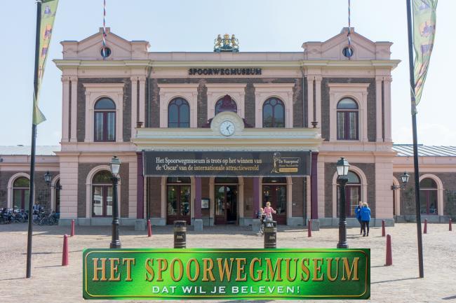 Utrecht CS - Spoorwegmuseum vv