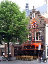 Breda in oranjestemming voor EK 2012