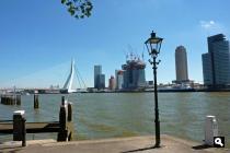 Nieuwe Maas en Erasmusbrug